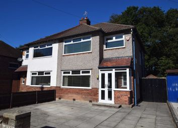 Thumbnail 3 bed semi-detached house for sale in Langdale Road, Bebington, Wirral