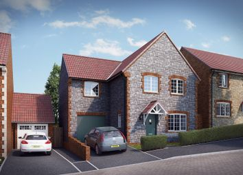 "Thumbnail 4 bed property for sale in ""The Monksfield"" at Knight Road, Wells"