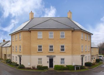 Thumbnail 2 bed flat for sale in Flax Crescent, Carterton, Oxfordshire
