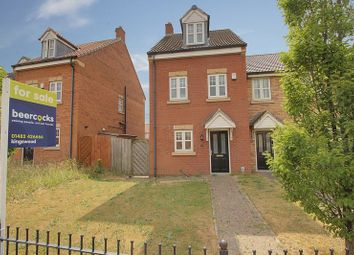 Thumbnail 3 bedroom terraced house for sale in Pools Brook Park, Kingswood, Hull