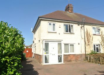 Thumbnail 3 bed semi-detached house for sale in Cowper Road, Peterborough, Cambridgeshire