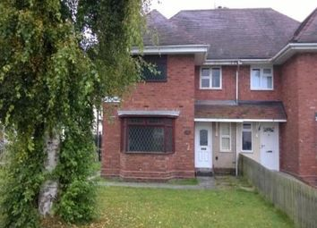 Thumbnail 4 bed semi-detached house to rent in Filey Road, Wolverhampton