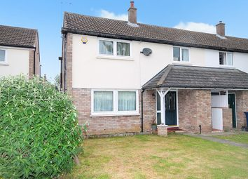 Thumbnail 3 bedroom end terrace house for sale in Magdalene Close, Longstanton