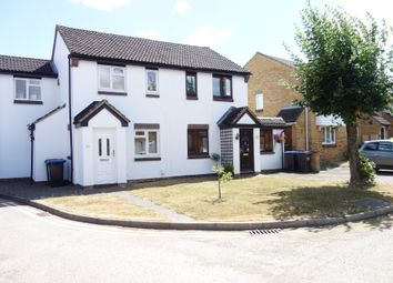 Thumbnail 3 bed semi-detached house for sale in Nash Close, Welham Green, North Mymms, Hertfordshire