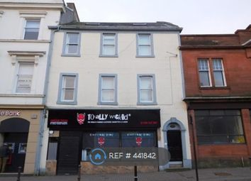 Thumbnail 2 bed flat to rent in High Street, Irvine