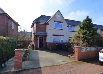 Thumbnail 3 bedroom semi-detached house for sale in Holystone Crescent, High Heaton, Newcastle Upon Tyne