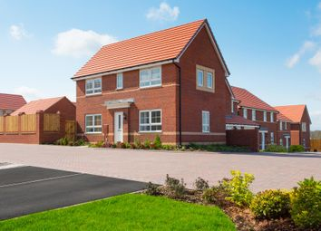 "Thumbnail 3 bedroom end terrace house for sale in ""Ennerdale"" at Tiber Road, North Hykeham, Lincoln"
