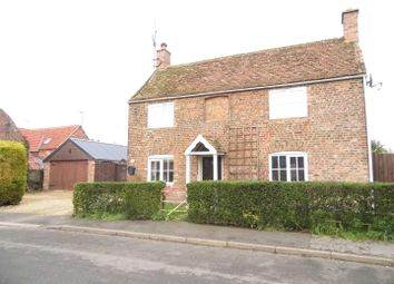 Thumbnail 3 bedroom detached house for sale in St. Pauls Road North, Walton Highway, Wisbech