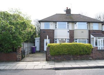 Thumbnail 3 bed semi-detached house to rent in Glenconner Road, Childwall, Liverpool, Merseyside