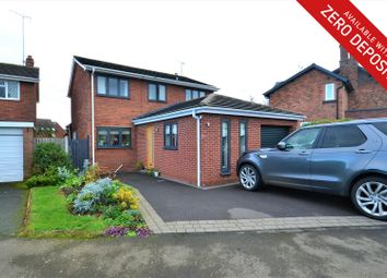Thumbnail 4 bed detached house to rent in Margesson Drive, Barnt Green, Birmingham
