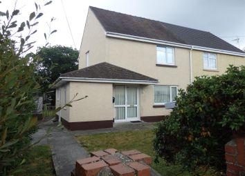 Thumbnail 2 bed semi-detached house for sale in Argoed Crescent, Trimsaran, Kidwelly