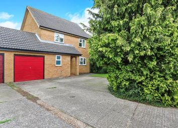Thumbnail 4 bed link-detached house for sale in Cyprus Road, Attleborough