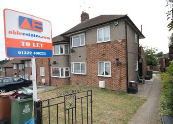 Thumbnail 2 bed maisonette to rent in Edendale Road, Barnehurst, Bexleyheath, Kent