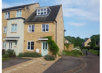 Thumbnail 3 bed end terrace house for sale in Wellbrook Way, Girton, Cambridge