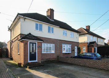 Thumbnail 3 bed semi-detached house for sale in Orchard Lane, Pilgrims Hatch, Brentwood