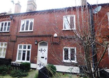 Thumbnail 1 bed terraced house for sale in Norwich, Norfolk