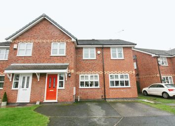 Thumbnail 4 bed semi-detached house for sale in Redpoll Close, Worsley, Manchester