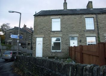 Thumbnail 3 bed end terrace house to rent in Norman Road, Denby Dale, Huddersfield