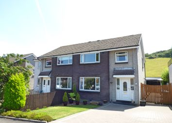 Thumbnail 3 bed semi-detached house for sale in Middlepenny Road, Langbank