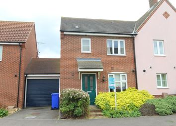 Thumbnail 3 bedroom semi-detached house for sale in St. Olaves Road, Bury St. Edmunds