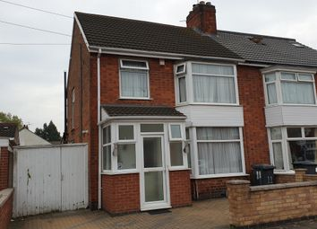 Thumbnail 3 bed semi-detached house for sale in Strathmore Avenue, Leicester