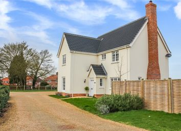Thumbnail 4 bed detached house for sale in Broomefield Road, Stoke Holy Cross, Norwich, Norfolk