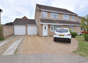 Thumbnail 3 bed semi-detached house for sale in Darnel Way, Stanway, Colchester
