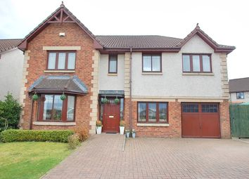 Thumbnail 5 bed detached house for sale in Hollyhock Glade, Livingston