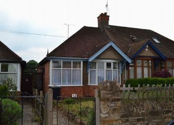 Thumbnail 2 bedroom semi-detached bungalow to rent in Knights Lane, Kingsthorpe Village, Northampton