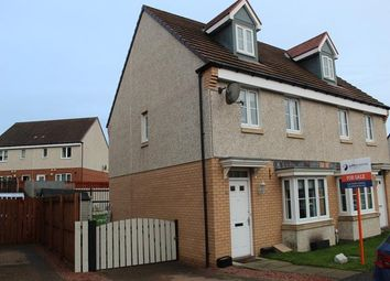 Thumbnail 3 bedroom town house for sale in Hoy Gardens, Carfin, Motherwell
