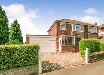 Thumbnail 3 bed semi-detached house for sale in Holmesdale Road, Dronfield, Derbyshire