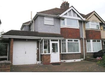 Thumbnail 5 bed semi-detached house to rent in Hounslow Road, Whitton, Twickenham