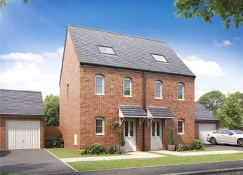 Thumbnail 3 bed semi-detached house for sale in Plot 189 Millers Field, Manor Park, Sprowston, Norfolk