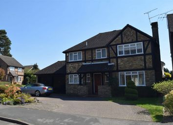 Thumbnail 4 bed detached house for sale in Henley Drive, Frimley Green, Surrey