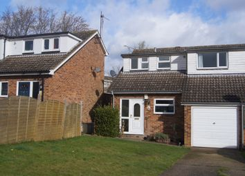 Thumbnail 3 bed semi-detached house for sale in Ascot Drive, Leighton Buzzard