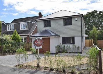 Thumbnail 4 bed detached house for sale in Kings Brook, Everton Road, Hordle, Lymington