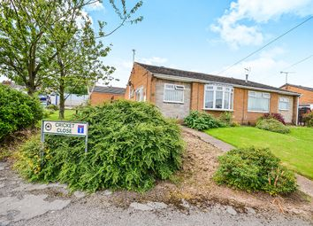 Thumbnail 2 bedroom bungalow for sale in Cricket Close, Kirkby-In-Ashfield, Nottingham