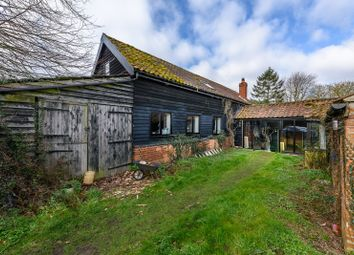 Thumbnail 4 bed barn conversion for sale in Tithebarn Lane, Thurlton