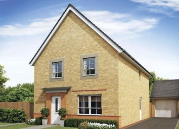 "Thumbnail 4 bed detached house for sale in ""Chertsey"" at Wood End, Marston Moretaine, Bedford"