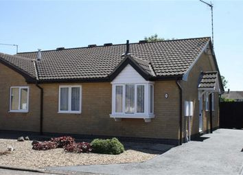 Thumbnail 2 bed semi-detached bungalow for sale in Ernee Close, Glenfield, Leicester