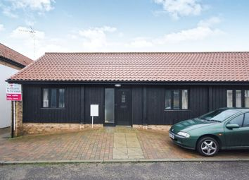 Thumbnail 2 bedroom terraced bungalow for sale in Church Farm Way, Lakenheath, Brandon