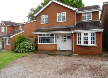 Thumbnail 4 bed detached house for sale in Cherry Tree Drive, Barwell, Leicester