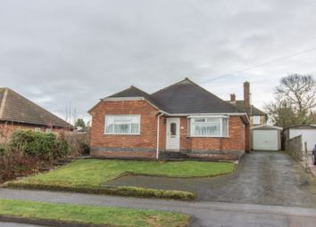 Thumbnail 3 bed detached bungalow for sale in Greenmoor Road, Burbage, Hinckley