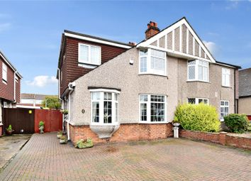 Thumbnail 4 bed semi-detached house for sale in Heathclose Avenue, West Dartford, Kent