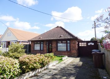 Thumbnail 3 bed detached bungalow for sale in Vera Road, New Rackheath