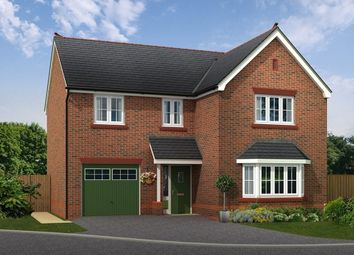 "Thumbnail 4 bed detached house for sale in ""Bordesley"" at Boundary Park, Parkgate, Neston"