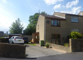 Thumbnail 2 bed semi-detached house for sale in Llys Corrwg, Rhydyfelin, Pontypridd