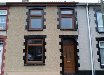 Thumbnail 3 bed terraced house to rent in Trealaw Road, Tonypandy