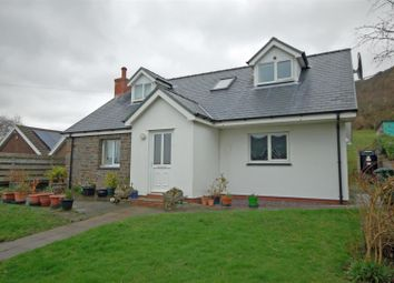 Thumbnail 4 bed detached house for sale in Taliesin, Machynlleth
