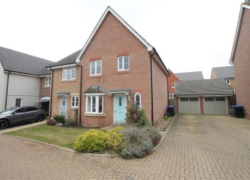 Thumbnail 3 bed property for sale in Cleeve Close, Daventry